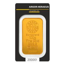 100g Argor-Heraeus