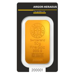 50g Argor-Heraeus