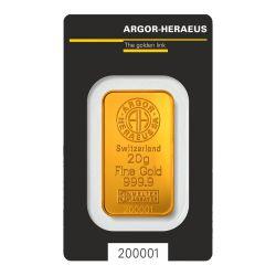 20g Argor-Heraeus
